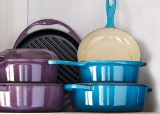 Save up to 50% on Le Creuset