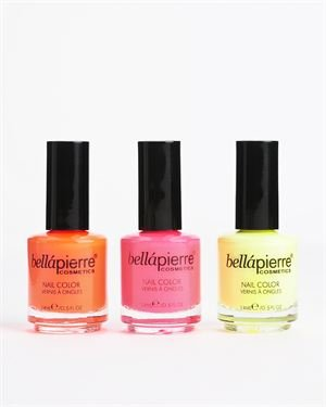 Bellapierre Nail Collecton Trio- Made in USA