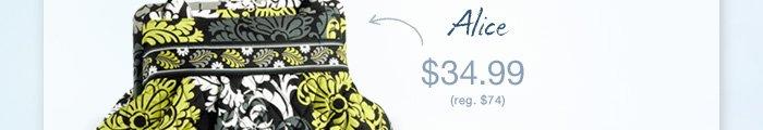 Alice $34.99