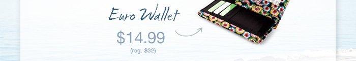 Euro Wallet $14.99