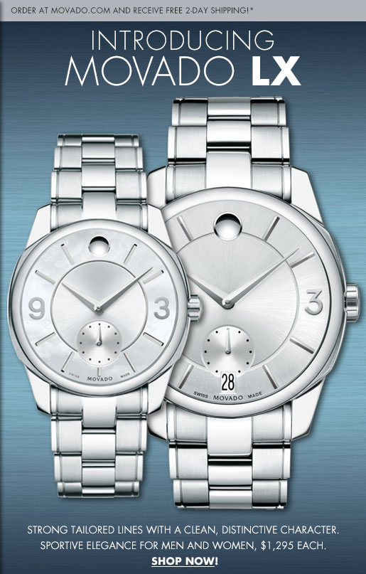 INTRODUCING MOVADO LX