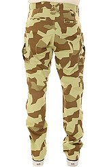 The High Post Cargo Pants in Geo Camo