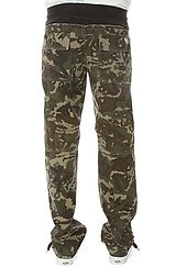 The Asa Camo Pants in Woodland Camo