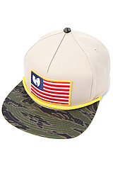 The Wu Flag Hat in Khaki