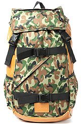 The Tech Backpack in Forest Camo