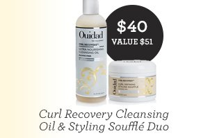 Curl Recovery Cleansing Oil & Styling Soufflé Duo