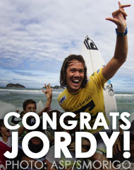 Jordy Wins Rio Pro!
