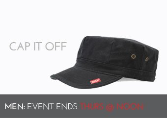 CAP IT OFF - MEN'S HATS