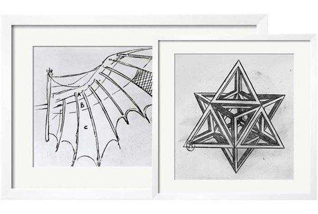 Sketches by Leonardo Da Vinci