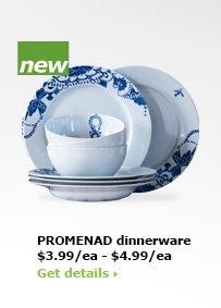 PROMENAD dinnerware