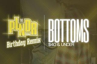 Bottoms $40 & Under