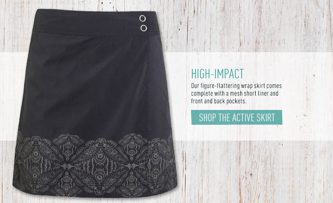Shop the Active Skirt
