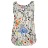 Surrealist Collage Print Camisole Top