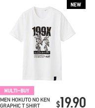 MEN HOKUTO NO KEN T-SHIRT