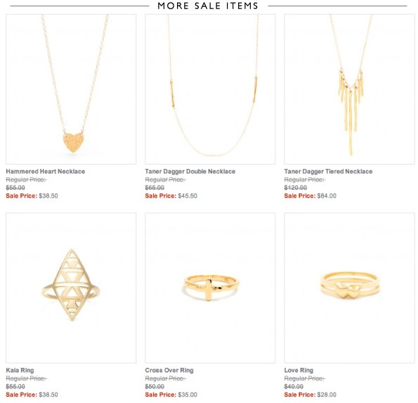 More Sale Items