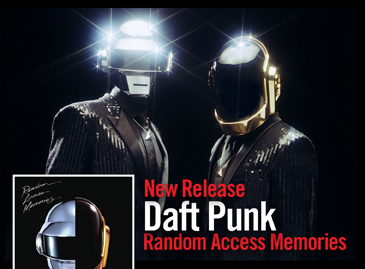 NEW RELEASE - DAFT PUNK - RANDOM ACCESS MEMORIES