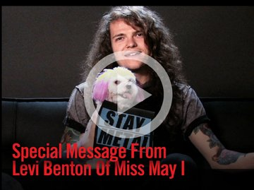 SPECIAL MESSAGE FROM LEVI BENTON OF MISS MAY I