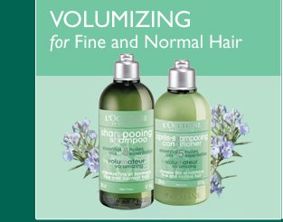 Volumizing for Fine and Normal Hair