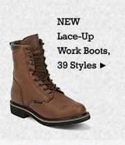 All Mens Lace Up Work Boots on Sale