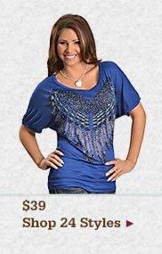 Shop Womens 3900 Tops