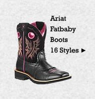 All Womens Ariat Fatbaby Boots on Sale