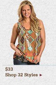 Shop Womens 3300 Tops