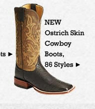All Mens Ostrich Boots on Sale