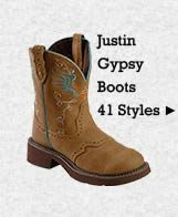 All Womens Justin Gypsy Boots on Sale
