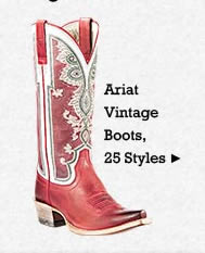All Womens Vintage Ariat Boots on Sale