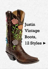 All Womens Vintage Justin Boots on Sale