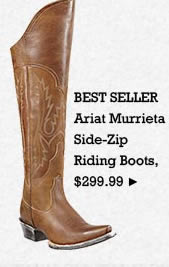 Womens Ariat Murrieta Side Zip Riding Boots on Sale