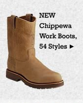 All Mens Chippewa Work Boots on Sale