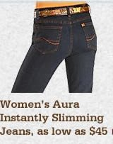 All Womens Aura Instant Slimming Jeans on Sale