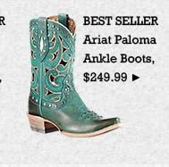 Womens Ariat Paloma Ankle Boots on Sale