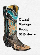 All Womens Vintage Corral Boots on Sale