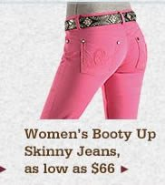 All Womens Booty Up Skinny Jeans on Sale