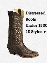 Shop Distressed Boots Under 100