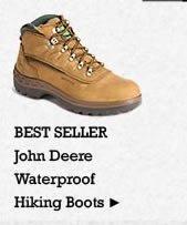 Mens John Deere Waterproof Hiking Boots on Sale