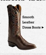 All Mens Leather Dress Boots on Sale