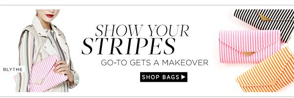 Show Your Stripes: Go-To Gets a Makeover