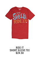 Ride It Short Sleeve Tee