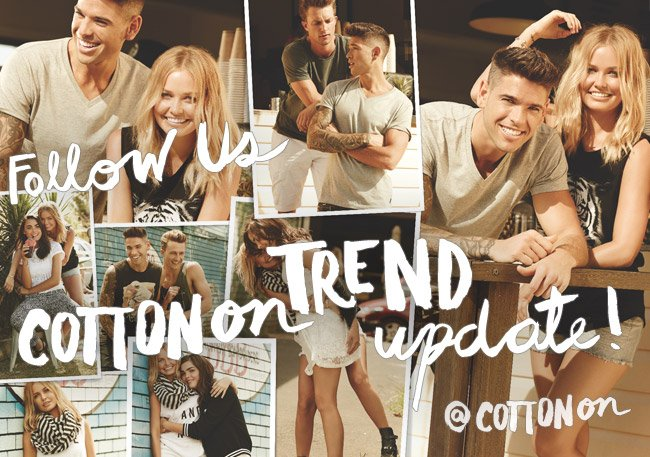 Trend update! New season styles now available.