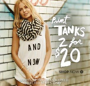 Print tanks 2 for $20
