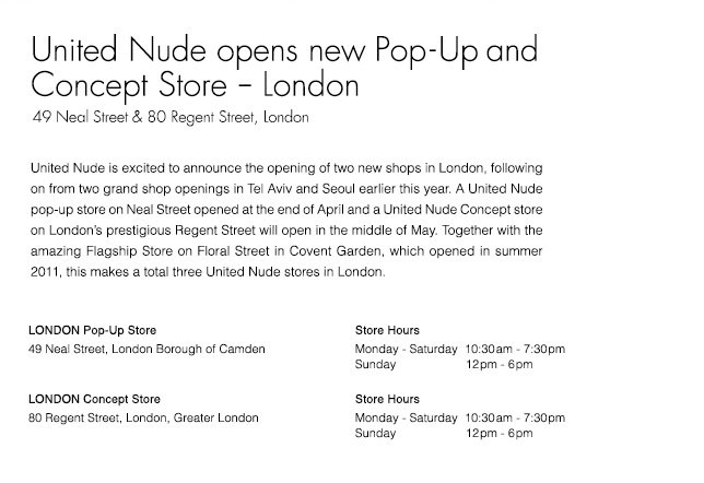 New Pop-Up and Concept Store | London