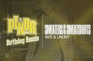 Sweaters & Sweatshirts $25 & Under