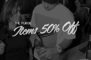 The Purge: Items 50% Off