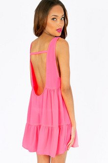 RAINA RUFFLED TIER DRESS 32