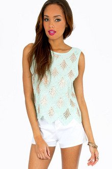 SEQUINS IN SEQUENCE TANK TOP 37