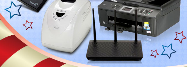 Bread Maker, Printer, Router