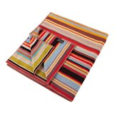 Large Signature Stripe Beach Towel